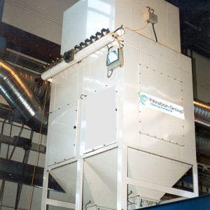 Filterelement til støv, komplet støvfilteranlæg til industri