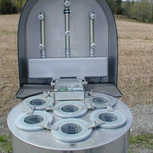 Filterelement til støv, støvfilteranlæg til silo ventilation